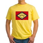 Arkansas Flag Yellow T-Shirt