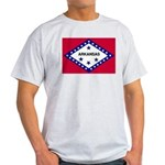 Arkansas Flag Light T-Shirt