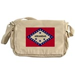 Arkansas Flag Messenger Bag