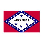 Arkansas Flag 22x14 Wall Peel