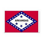 Arkansas Flag Car Magnet 20 x 12