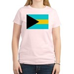 Bahamas Flag Women's Light T-Shirt