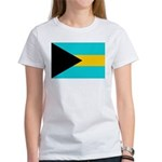 Bahamas Flag Women's T-Shirt