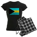 Bahamas Flag Women's Dark Pajamas