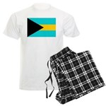 Bahamas Flag Men's Light Pajamas