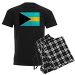 Bahamas Flag Men's Dark Pajamas