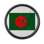 Bangladesh Flag Large Wall Clock