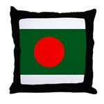 Bangladesh Flag Throw Pillow