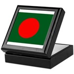 Bangladesh Flag Keepsake Box