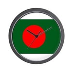 Bangladesh Flag Wall Clock