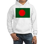 Bangladesh Flag Hooded Sweatshirt