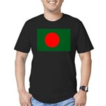Bangladesh Flag Men's Fitted T-Shirt (dark)