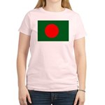 Bangladesh Flag Women's Light T-Shirt