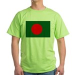 Bangladesh Flag Green T-Shirt