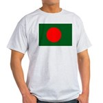 Bangladesh Flag Light T-Shirt