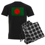 Bangladesh Flag Men's Dark Pajamas