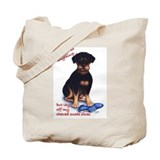 Chewed Suede Tote Bag