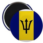 Barbados Flag Magnet