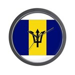 Barbados Flag Wall Clock
