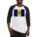 Barbados Flag Baseball Jersey