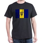 Barbados Flag Dark T-Shirt