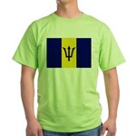 Barbados Flag Green T-Shirt