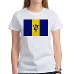 Barbados Flag Women's T-Shirt