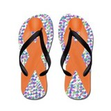 Multiple sclerosis awareness Flip Flops