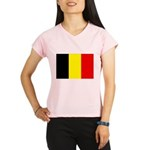Belgium Flag Performance Dry T-Shirt