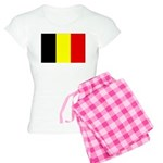 Belgium Flag Women's Light Pajamas