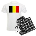Belgium Flag Men's Light Pajamas