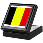 Belgium Flag Keepsake Box