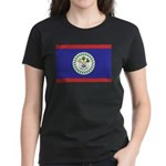 Belize Flag Women's Dark T-Shirt