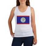 Belize Flag Women's Tank Top