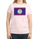 Belize Flag Women's Light T-Shirt