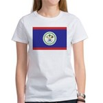 Belize Flag Women's T-Shirt