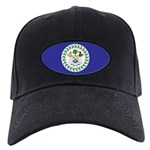 Belize Flag Black Cap
