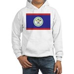 Belize Flag Hooded Sweatshirt