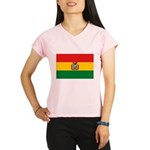 Bolivia Flag Performance Dry T-Shirt