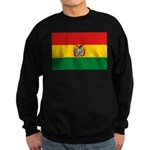 Bolivia Flag Sweatshirt (dark)
