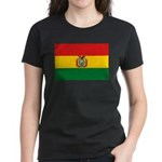 Bolivia Flag Women's Dark T-Shirt