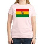 Bolivia Flag Women's Light T-Shirt