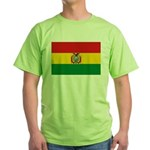 Bolivia Flag Green T-Shirt