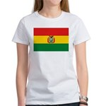 Bolivia Flag Women's T-Shirt