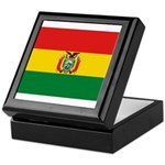 Bolivia Flag Keepsake Box
