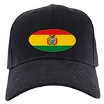 Bolivia Flag Black Cap