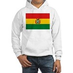 Bolivia Flag Hooded Sweatshirt
