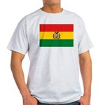 Bolivia Flag Light T-Shirt