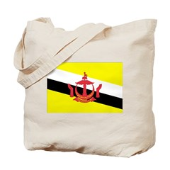 Brunei Flag Tote Bag