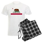 California Flag Men's Light Pajamas